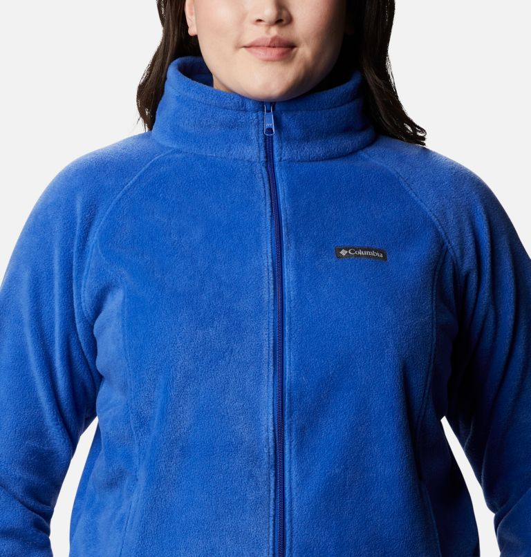 Benton Springs™ Full Zip | 410 | 2X Women's Benton Springs™ Full Zip - Plus Size, Lapis Blue, a2