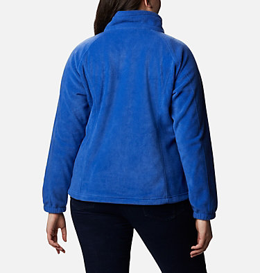 Women's Benton Springs™ Full Zip - Plus Size Benton Springs™ Full Zip | 619 | 1X, Lapis Blue, back
