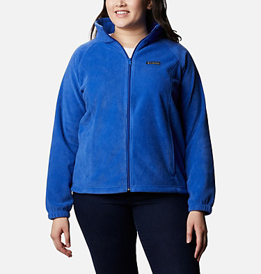 Women's Benton Springs™ Full Zip - Plus Size Benton Springs™ Full Zip | 619 | 1X, Lapis Blue, front