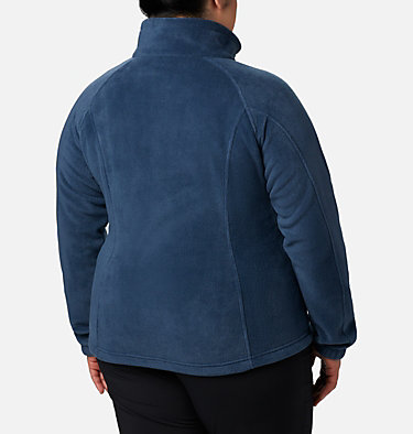 Women's Benton Springs™ Full Zip - Plus Size Benton Springs™ Full Zip | 619 | 1X, Columbia Navy, back