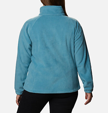 Women's Benton Springs™ Full Zip - Plus Size Benton Springs™ Full Zip | 619 | 1X, Canyon Blue, back
