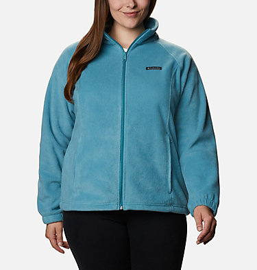 Women's Benton Springs™ Full Zip - Plus Size Benton Springs™ Full Zip | 619 | 1X, Canyon Blue, front