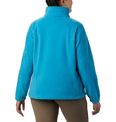 Women's Benton Springs™ Full Zip - Plus Size Benton Springs™ Full Zip | 619 | 1X, Clear Water, back