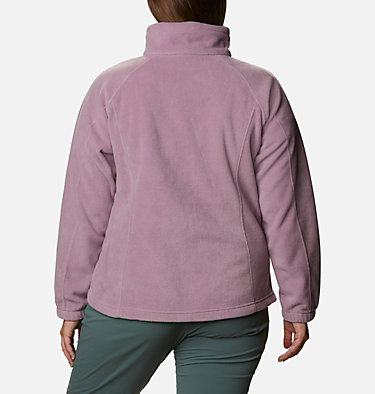 Women's Benton Springs™ Full Zip - Plus Size Benton Springs™ Full Zip | 619 | 1X, Winter Mauve, back