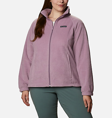 Women's Benton Springs™ Full Zip - Plus Size Benton Springs™ Full Zip | 619 | 1X, Winter Mauve, front