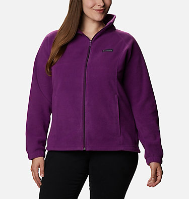 Women's Benton Springs™ Full Zip - Plus Size Benton Springs™ Full Zip | 619 | 1X, Plum, front