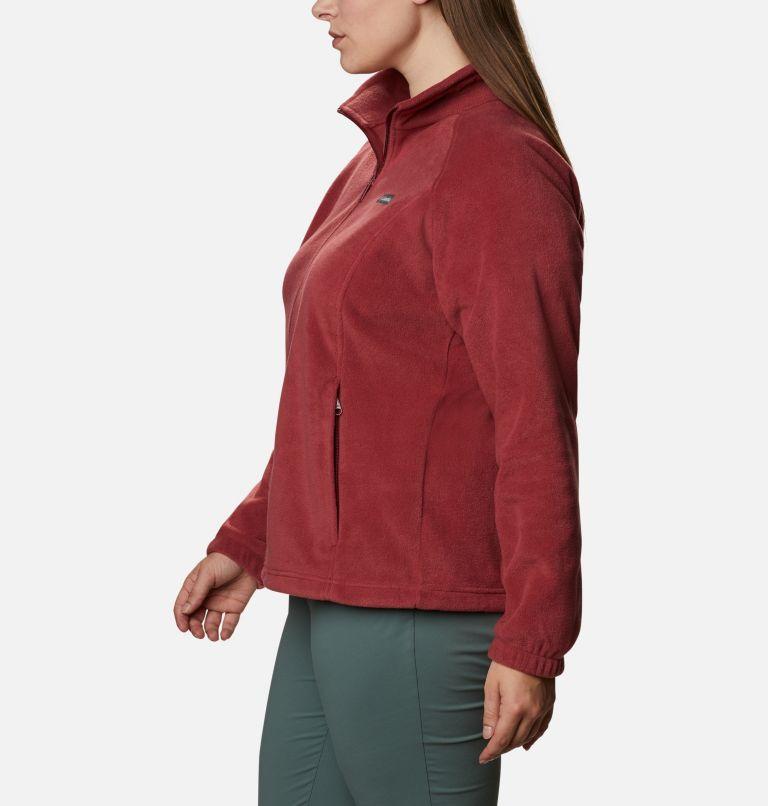 Benton Springs™ Full Zip | 619 | 2X Women's Benton Springs™ Full Zip - Plus Size, Marsala Red, a1