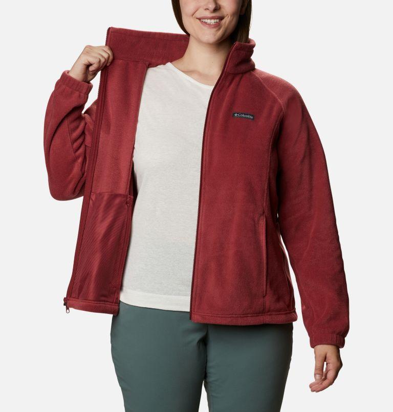 Benton Springs™ Full Zip | 619 | 2X Women's Benton Springs™ Full Zip - Plus Size, Marsala Red, a3