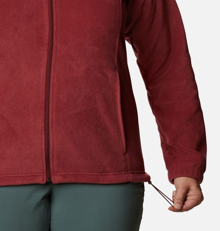 Benton Springs™ Full Zip | 619 | 2X Women's Benton Springs™ Full Zip - Plus Size, Marsala Red, a4