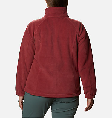 Women's Benton Springs™ Full Zip - Plus Size Benton Springs™ Full Zip | 619 | 1X, Marsala Red, back