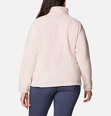 Women's Benton Springs™ Full Zip - Plus Size Benton Springs™ Full Zip | 619 | 1X, Dusty Pink, back