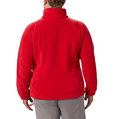 Veste à fermeture éclair complète Benton Springs™ pour femme – Grandes tailles Benton Springs™ Full Zip | 671 | 1X, Red Lily, back