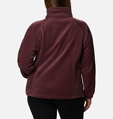 Women's Benton Springs™ Full Zip - Plus Size Benton Springs™ Full Zip | 619 | 1X, Malbec, back