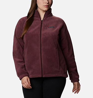 Women's Benton Springs™ Full Zip - Plus Size Benton Springs™ Full Zip | 619 | 1X, Malbec, front