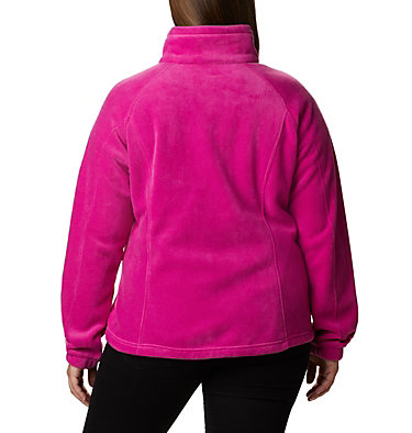 Women's Benton Springs™ Full Zip - Plus Size Benton Springs™ Full Zip | 619 | 1X, Fuchsia, back