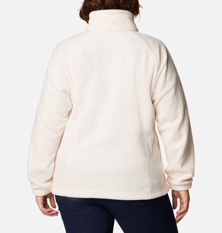 Benton Springs™ Full Zip   886   3X Women's Benton Springs™ Full Zip - Plus Size, Peach Quartz, back