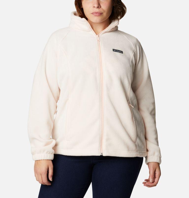 Benton Springs™ Full Zip   886   3X Women's Benton Springs™ Full Zip - Plus Size, Peach Quartz, front