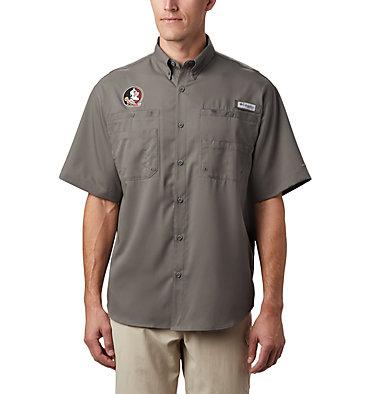 Men's Collegiate PFG Tamiami™ Short Sleeve Shirt - Florida State CLG Tamiami™ Short Sleeve Shirt | 621 | XXL, FSU- Charcoal, front
