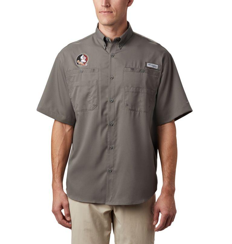 Men's Collegiate PFG Tamiami™ Short Sleeve Shirt Men's Collegiate PFG Tamiami™ Short Sleeve Shirt, front
