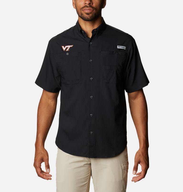 Men's Collegiate PFG Tamiami™ Short Sleeve Shirt - Virginia Tech Men's Collegiate PFG Tamiami™ Short Sleeve Shirt - Virginia Tech, front