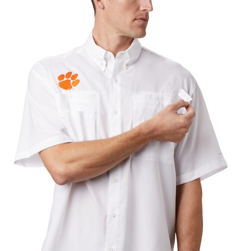 Men's Collegiate PFG Tamiami™ Short Sleeve Shirt - Clemson Men's Collegiate PFG Tamiami™ Short Sleeve Shirt - Clemson, a1