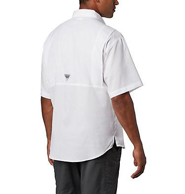 Men's Collegiate PFG Tamiami™ Short Sleeve Shirt - Texas A & M CLG Tamiami™ Short Sleeve Shirt | 133 | XXL, TAM - White, back