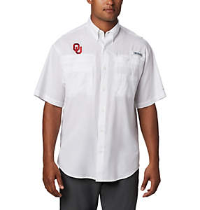 Men's Collegiate PFG Tamiami™ Short Sleeve Shirt - Oklahoma