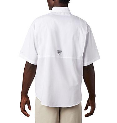Men's Collegiate PFG Tamiami™ Short Sleeve Shirt - Georgia CLG Tamiami™ Short Sleeve Shirt | 773 | S, UGA - White, back
