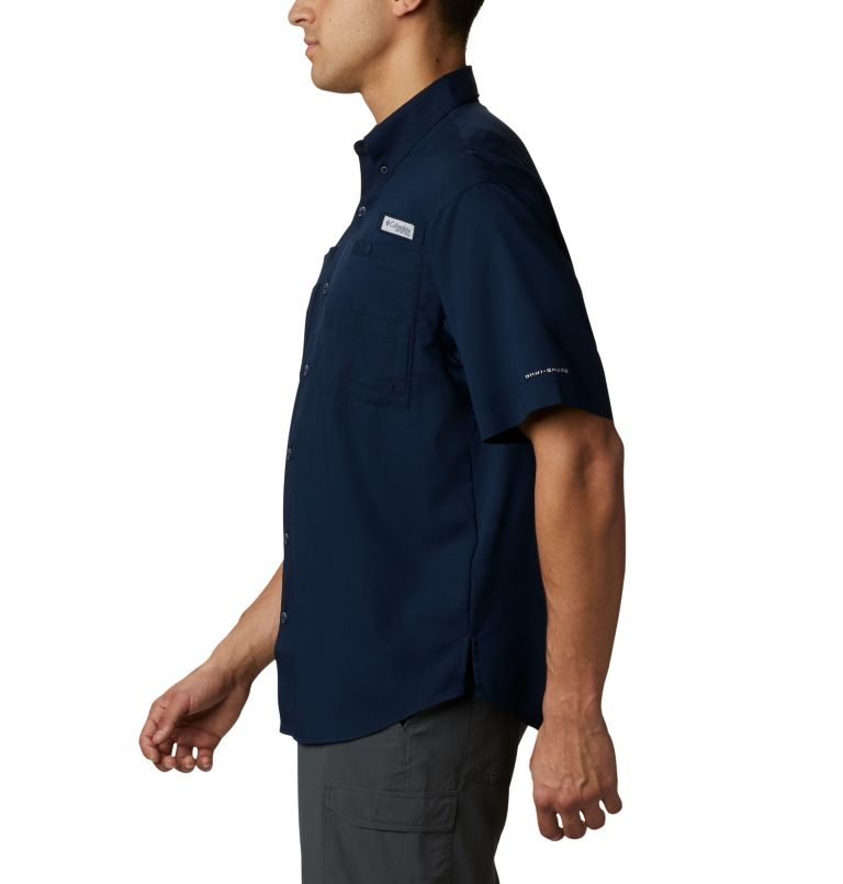 Men's Collegiate PFG Tamiami™ Short Sleeve Shirt - Auburn Men's Collegiate PFG Tamiami™ Short Sleeve Shirt - Auburn, a1