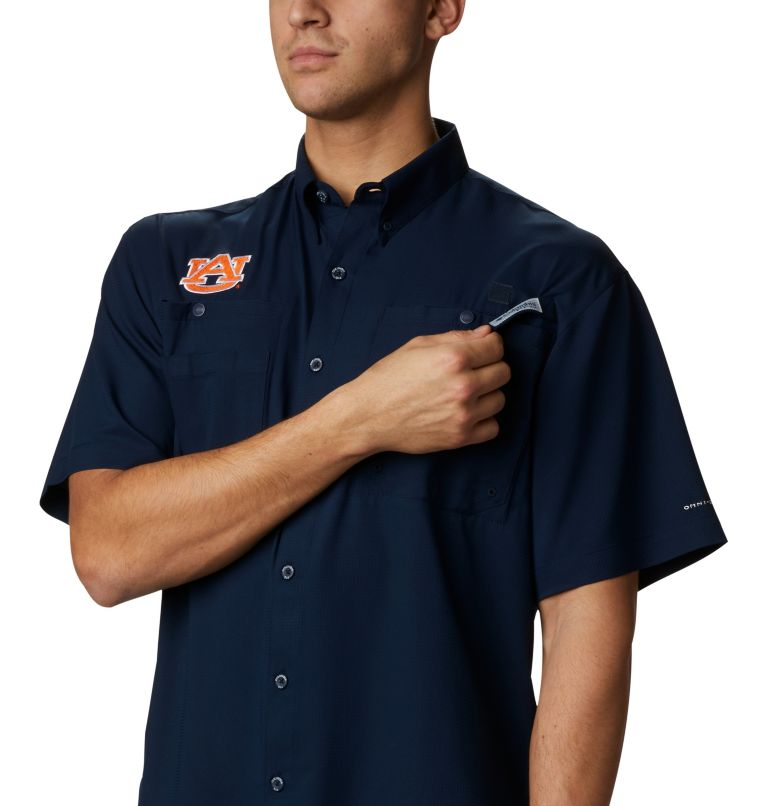 Men's Collegiate PFG Tamiami™ Short Sleeve Shirt - Auburn Men's Collegiate PFG Tamiami™ Short Sleeve Shirt - Auburn, a2