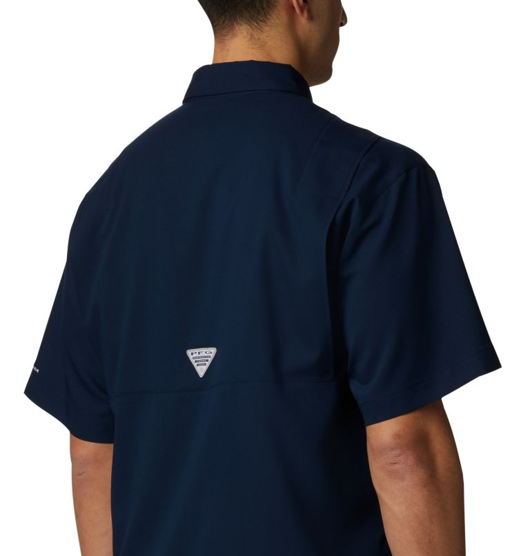Men's Collegiate PFG Tamiami™ Short Sleeve Shirt - Auburn Men's Collegiate PFG Tamiami™ Short Sleeve Shirt - Auburn, a3