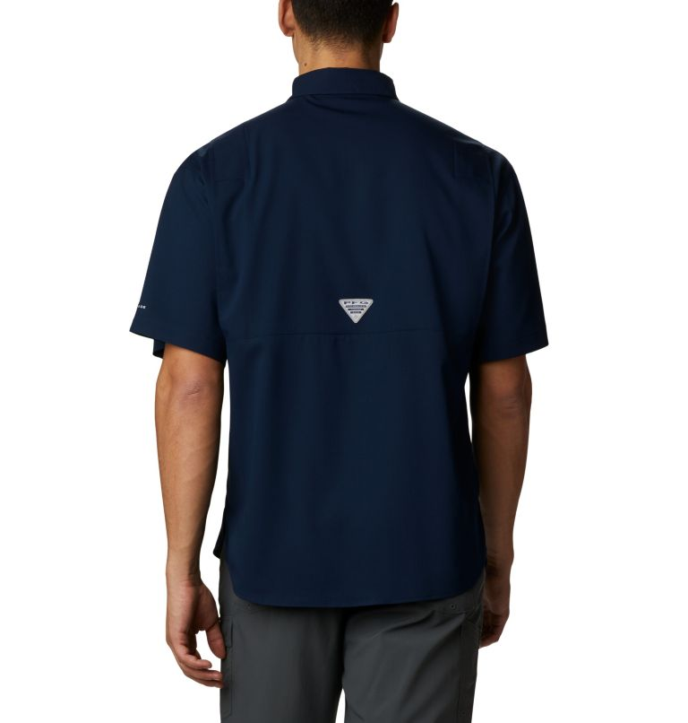 Men's Collegiate PFG Tamiami™ Short Sleeve Shirt - Auburn Men's Collegiate PFG Tamiami™ Short Sleeve Shirt - Auburn, back