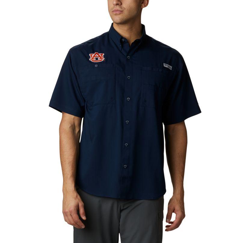 Men's Collegiate PFG Tamiami™ Short Sleeve Shirt - Auburn Men's Collegiate PFG Tamiami™ Short Sleeve Shirt - Auburn, front