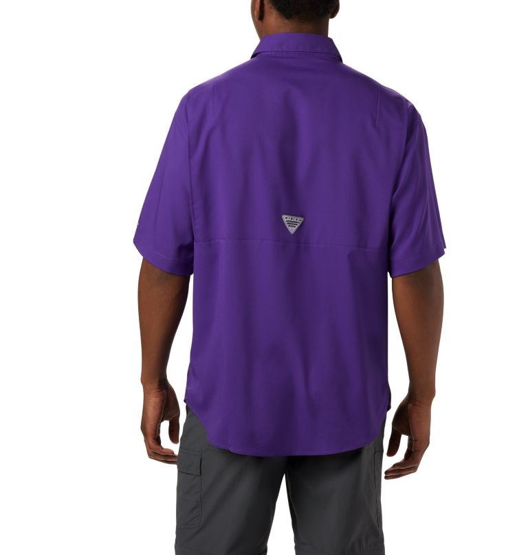 Men's Collegiate PFG Tamiami™ Short Sleeve Shirt - LSU Men's Collegiate PFG Tamiami™ Short Sleeve Shirt - LSU, back