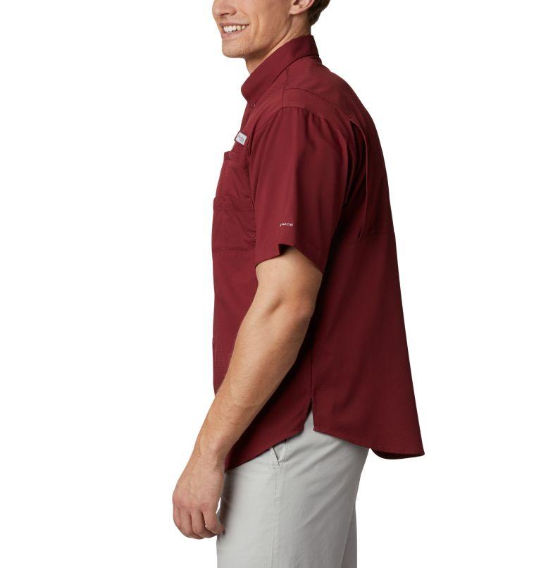 CLG Tamiami™ Short Sleeve Shirt | 621 | XL Men's Collegiate PFG Tamiami™ Short Sleeve Shirt - Florida State, FSU - Cabernet, a1