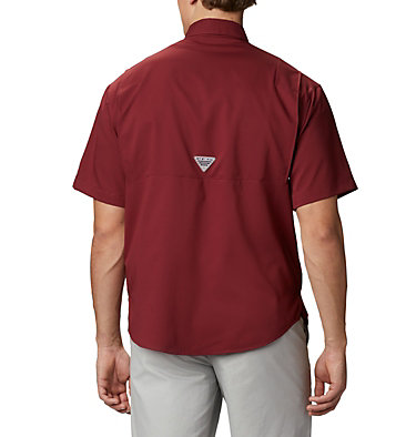 Men's Collegiate PFG Tamiami™ Short Sleeve Shirt - Florida State CLG Tamiami™ Short Sleeve Shirt | 621 | XXL, FSU - Cabernet, back