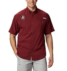 Men's Collegiate PFG Tamiami™ Short Sleeve Shirt - Florida State