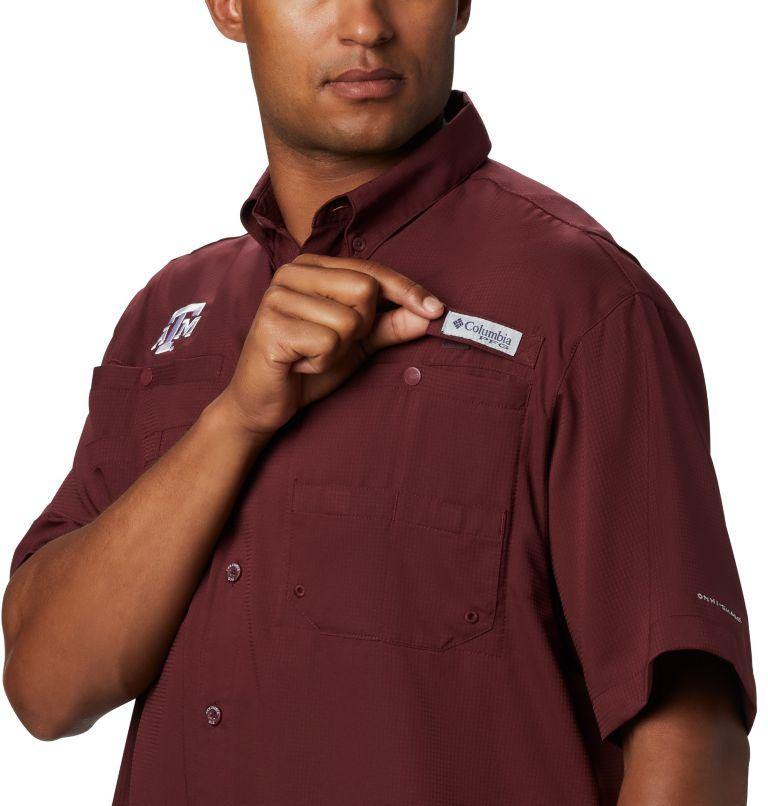 Men's Collegiate PFG Tamiami™ Short Sleeve Shirt - Texas A & M Men's Collegiate PFG Tamiami™ Short Sleeve Shirt - Texas A & M, a1