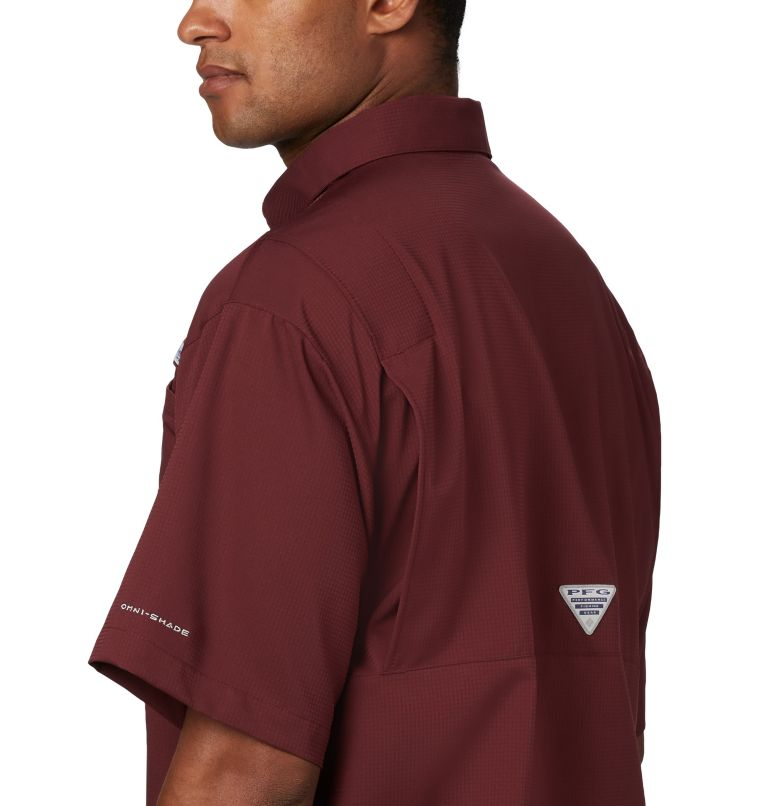 Men's Collegiate PFG Tamiami™ Short Sleeve Shirt - Texas A & M Men's Collegiate PFG Tamiami™ Short Sleeve Shirt - Texas A & M, a2