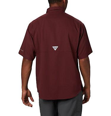 Men's Collegiate PFG Tamiami™ Short Sleeve Shirt - Texas A & M CLG Tamiami™ Short Sleeve Shirt | 133 | XXL, TAM - Maroon, back