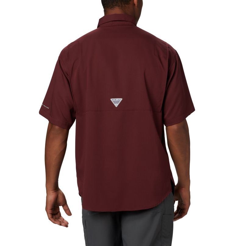 Men's Collegiate PFG Tamiami™ Short Sleeve Shirt - Texas A & M Men's Collegiate PFG Tamiami™ Short Sleeve Shirt - Texas A & M, back