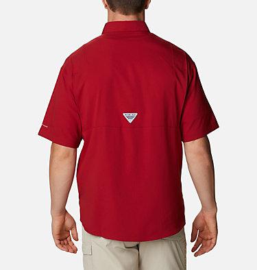 Men's Collegiate PFG Tamiami™ Short Sleeve Shirt - Alabama CLG Tamiami™ Short Sleeve Shirt | 110 | L, ALA - Red Velvet, back