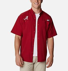 Men's Collegiate PFG Tamiami™ Short Sleeve Shirt - Alabama
