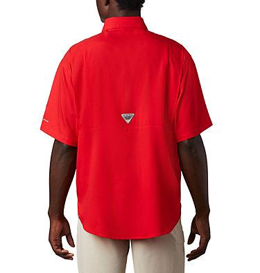 Men's Collegiate PFG Tamiami™ Short Sleeve Shirt - Georgia CLG Tamiami™ Short Sleeve Shirt | 773 | S, UGA - Bright Red, back