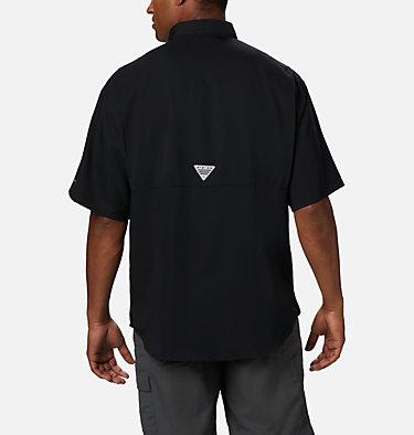 Men's Collegiate PFG Tamiami™ Short Sleeve Shirt - Georgia CLG Tamiami™ Short Sleeve Shirt | 773 | S, UGA - Black, back