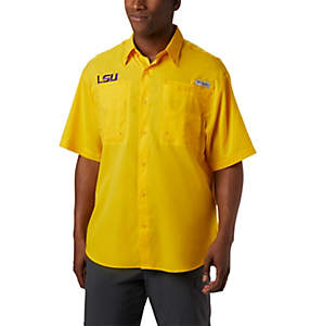 Men's Collegiate PFG Tamiami™ Short Sleeve Shirt - LSU