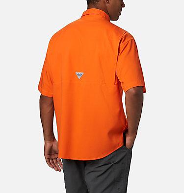 Men's Collegiate PFG Tamiami™ Short Sleeve Shirt - Florida CLG Tamiami™ Short Sleeve Shirt | 832 | M, FLA - Spark Orange, back