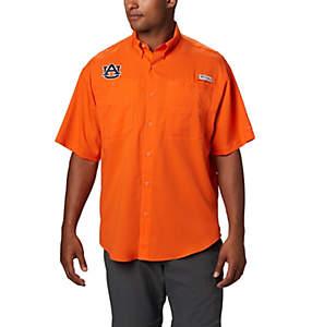 Men's Collegiate PFG Tamiami™ Short Sleeve Shirt - Auburn