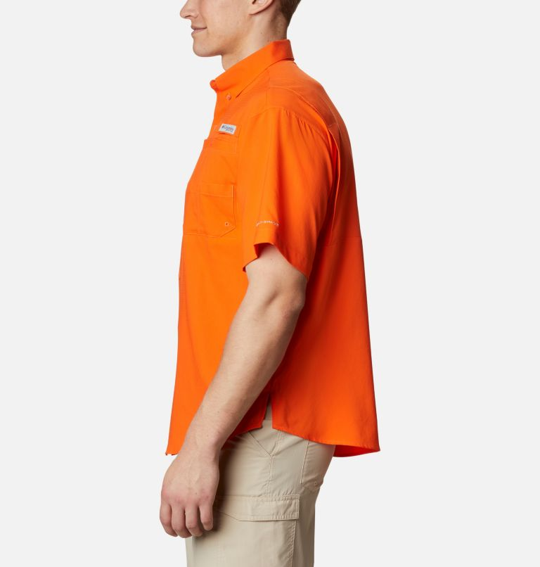 Men's Collegiate PFG Tamiami™ Short Sleeve Shirt - Clemson Men's Collegiate PFG Tamiami™ Short Sleeve Shirt - Clemson, a1