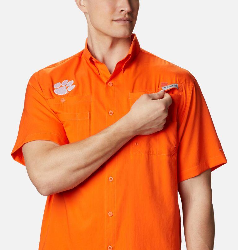 Men's Collegiate PFG Tamiami™ Short Sleeve Shirt - Clemson Men's Collegiate PFG Tamiami™ Short Sleeve Shirt - Clemson, a2